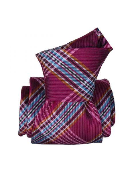 Cravate Classique Segni Disegni, Manshester, Carreaux Segni et Disegni Cravates