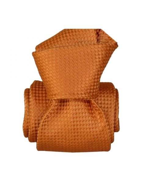 Cravate Segni Disegni LUXE, Faite main. Alba Orange Segni et Disegni Cravates