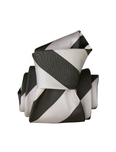 Cravate Segni Disegni LUXE, Faite main, Club Noir