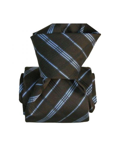 Cravate Segni Disegni LUXE, Faite main, Coventry, Gris