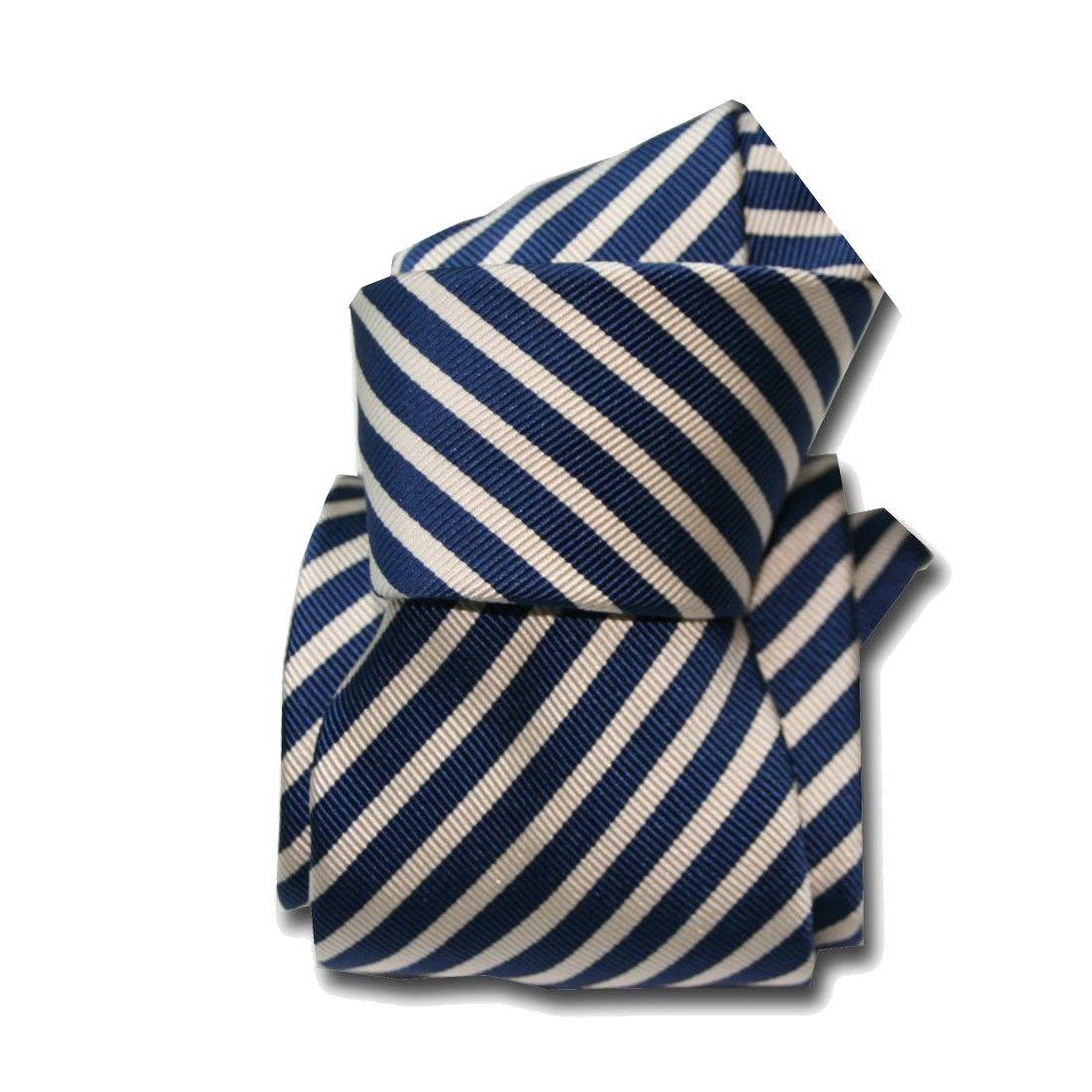 Bleu marine uni Segni /& DisegniCravate de Luxe en mélange Laine//Soie