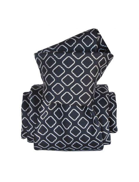 Cravate Segni Disegni LUXE, Faite main, Aramis Marine Segni et Disegni Cravates
