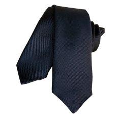Cravate Segni Disegni CLASSIC, Slim Marine