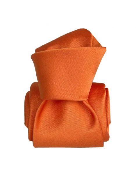 Cravate Segni Disegni LUXE, Faite main, Satin Orange Segni et Disegni Cravates
