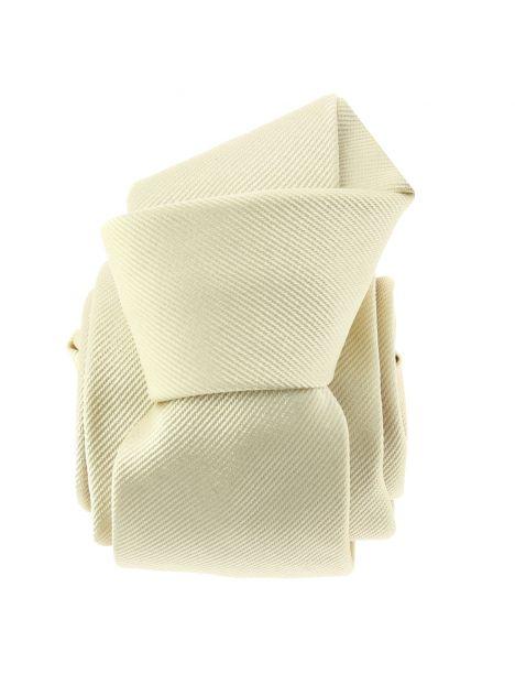 Cravate soie italienne, Avorio