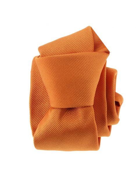 Cravate soie italienne, Orange Rame Tony & Paul Cravates