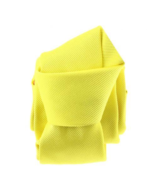 Cravate soie italienne, jaune Citron Tony & Paul Cravates