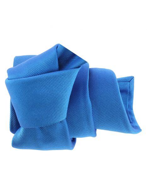 Cravate luxe faite à la main, Bleu Cina Tony & Paul Cravates