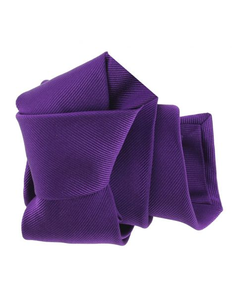 Cravate luxe faite à la main, Mauve Mammola Tony & Paul Cravates