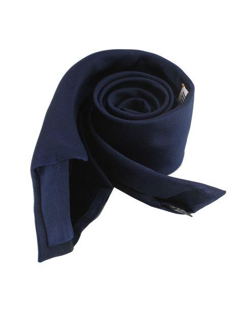 Cravate soie 6 plis, Marino, Faite à la main Tony & Paul Cravates