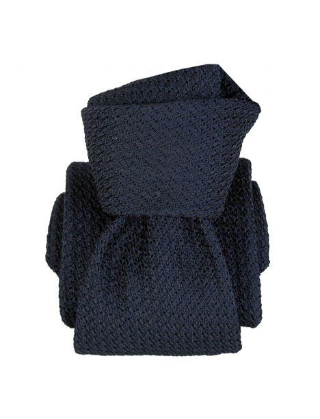 Cravate grenadine de soie, Segni et Disegni, Beverly Marine Segni et Disegni Cravates
