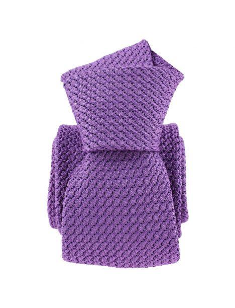 Cravate grenadine de soie, violet lavande, Tony & Paul Tony & Paul Cravates