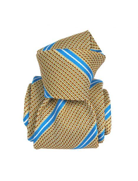 Cravate grenadine de soie, Segni & Disegni, Villa Senape Segni et Disegni Cravates