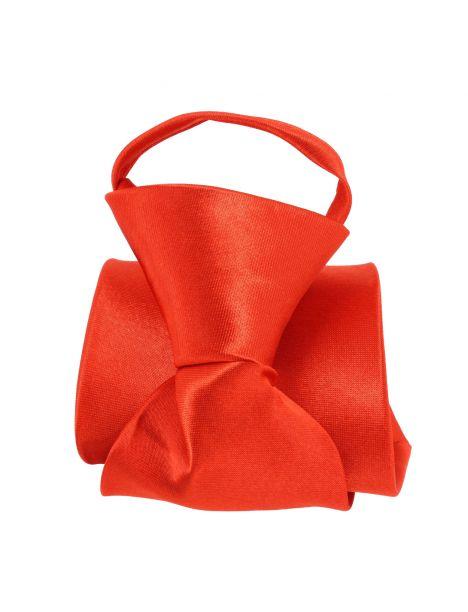 Cravate enfant, Rouge Pomme Carré Cravates