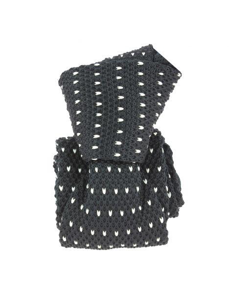 Cravate Tricot. Noir Clj Charles Le Jeune Cravates