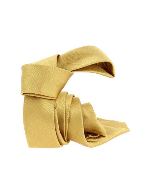 Cravate soie Segni Disegni CLASSIC, Slim Or Segni et Disegni Cravates