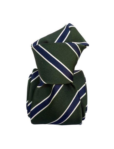 Cravate Classique Segni et Disegni- Savone vert Kaki Segni et Disegni Cravates