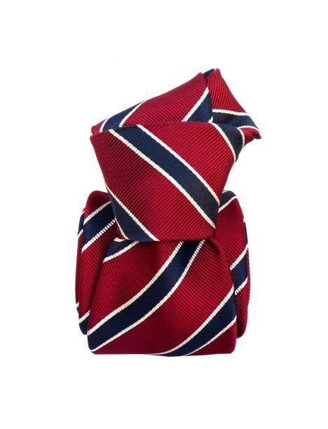 Cravate Classique Segni et Disegni- Savone Rouge Segni et Disegni Cravates