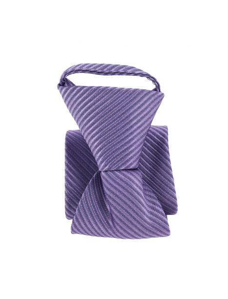 Cravate enfant, Petit Dandy mauve Pomme Carré Cravates