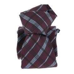 Cravate Segni Disegni LUXE, Faite main, Coventry, prune