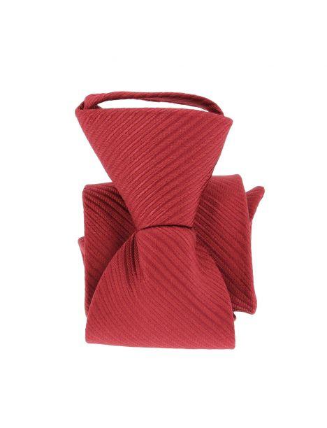 Cravate enfant, Petit Dandy rouge bordeaux Pomme Carré Cravates