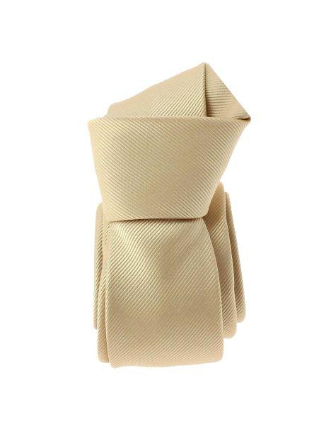 Cravate Slim, Birmingham, Beige Clj Charles Le Jeune Cravates