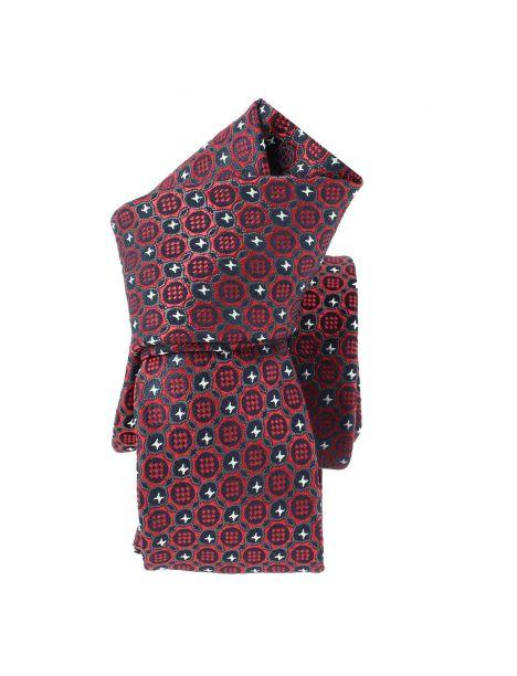 Cravate Slim, London, Bordeaux Clj Charles Le Jeune Cravates