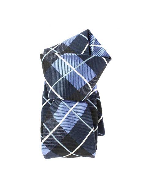 Cravate Slim, London, Bleu Clj Charles Le Jeune Cravates