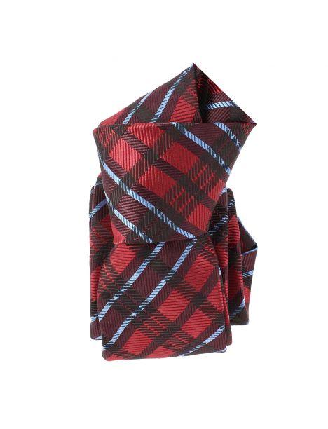 Cravate Slim, London, Rouge Clj Charles Le Jeune Cravates