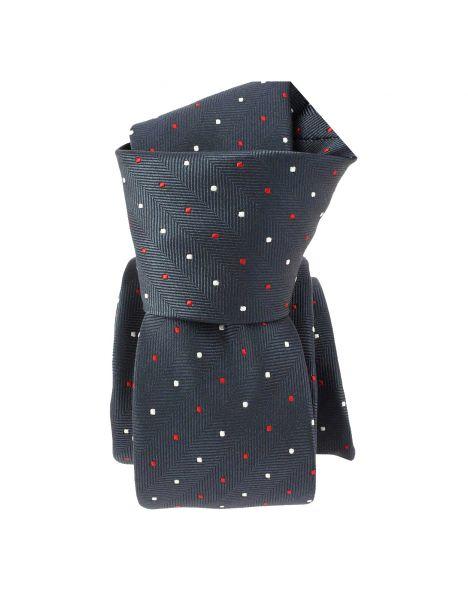 Cravate Slim, London, Marine Clj Charles Le Jeune Cravates