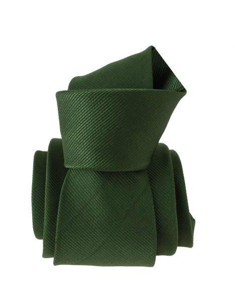 Cravate, vert armée uni, Lisieux Clj Charles Le Jeune Cravates