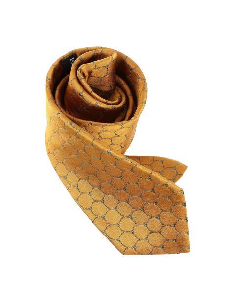 Cravate en soie, Dufy Ecailles Brochier Soieries 1890 Cravates