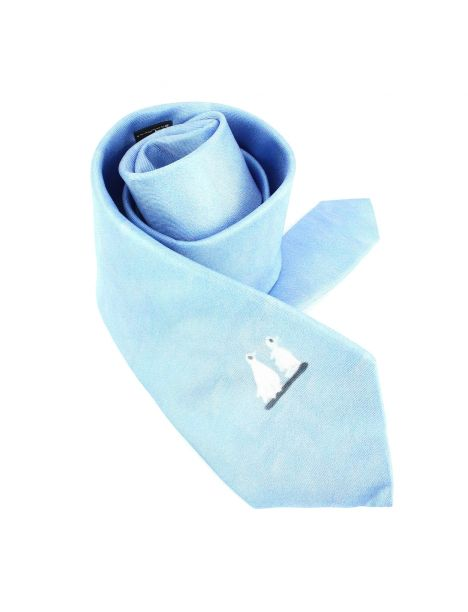 Cravate en soie, Picasso Pigeons Brochier Soieries 1890 Cravates