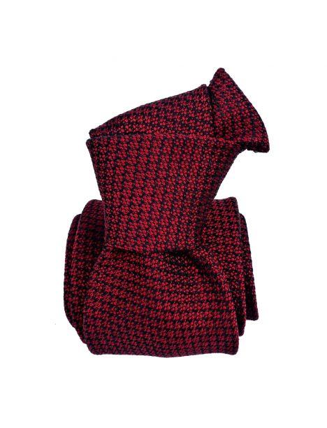 Cravate Mogador, Enna rouge Bordeaux Segni et Disegni Cravates