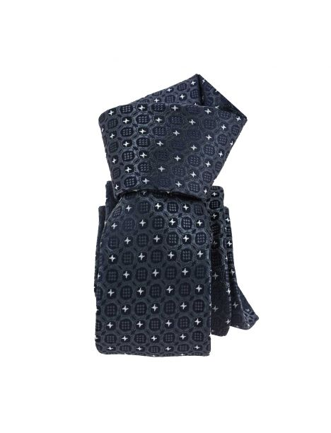 Cravate Slim, London, Grise Clj Charles Le Jeune Cravates