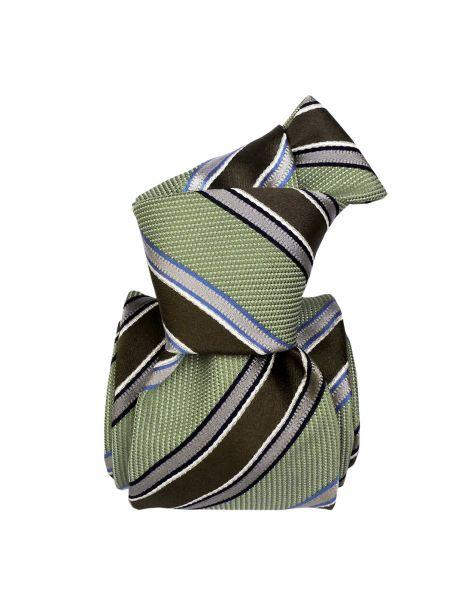 Cravate Soie Segni Disegni, Cosenza vert Segni et Disegni Cravates