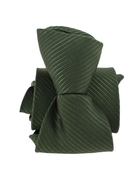Cravate enfant, Petit Dandy vert kaki Pomme Carré Cravates