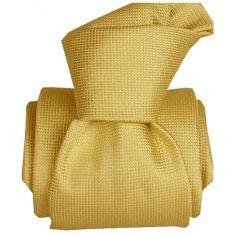 Cravate Classique Segni Disegni pure soie, Liguria jaune