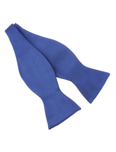 Noeud papillon à nouer en soie, Bleu royal, Fait à la main Tony & Paul Noeud Papillon