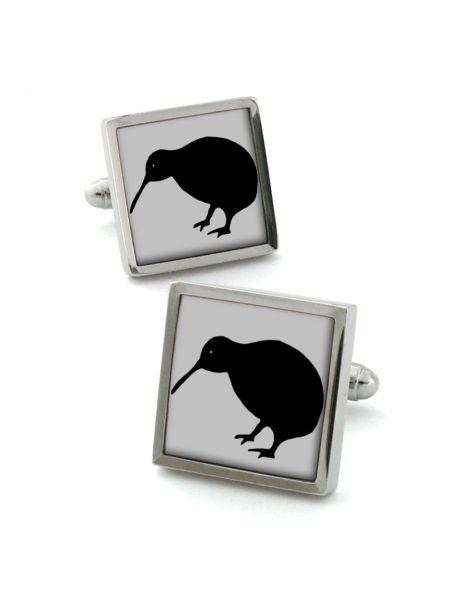 Boutons de manchette, kiwi