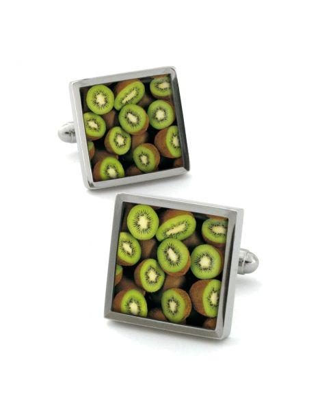 Boutons de manchette, kiwifruit