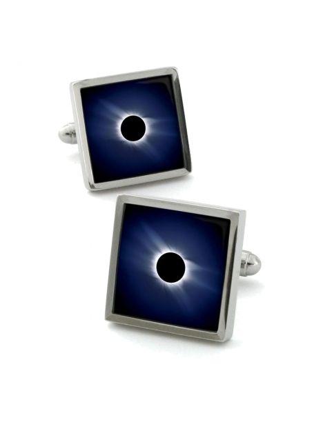 Boutons de manchette, Moon Eclipse Robert Charles Bouton de manchette