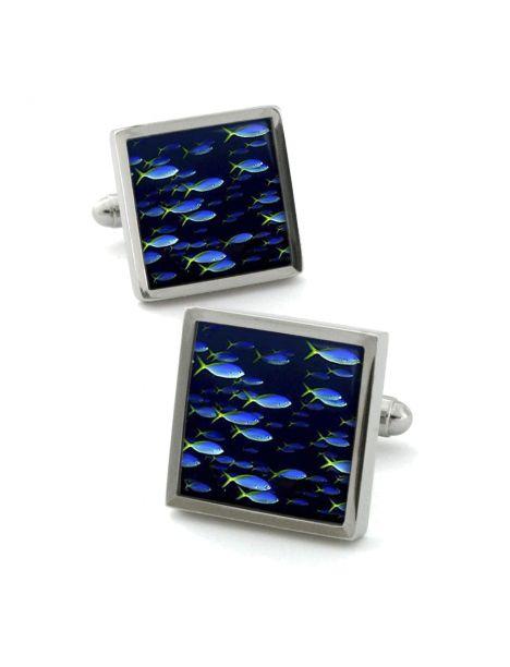 Boutons de manchette, Neon Fish
