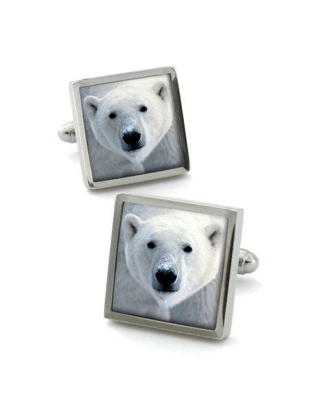 Boutons de manchette, Polar Bear Robert Charles Bouton de manchette