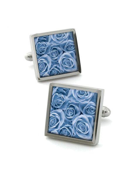 Boutons de manchette, Rose ice blue