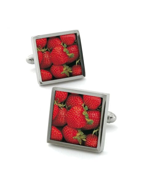 Boutons de manchette, Strawberry