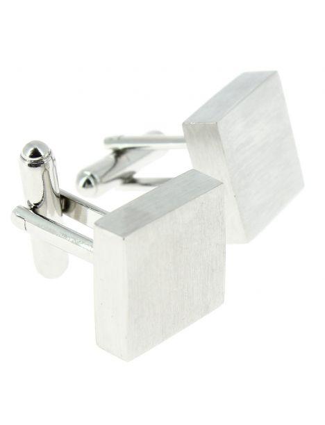 Boutons de manchette, Cube finition Inox Clj Charles Le Jeune Bouton de manchette