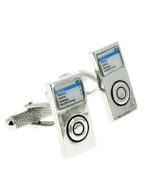Boutons de manchette, Ipod, telephone