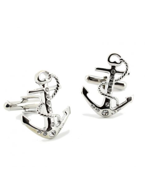 Boutons de manchette, Tatoo anchor