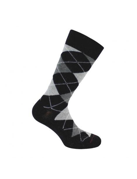 Mi chaussette, Laine et angora, noir Labonal Chaussettes